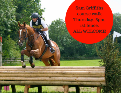 DATE CHANGE: Sam Griffiths Course Walk Thursday June 16 @ 6pm