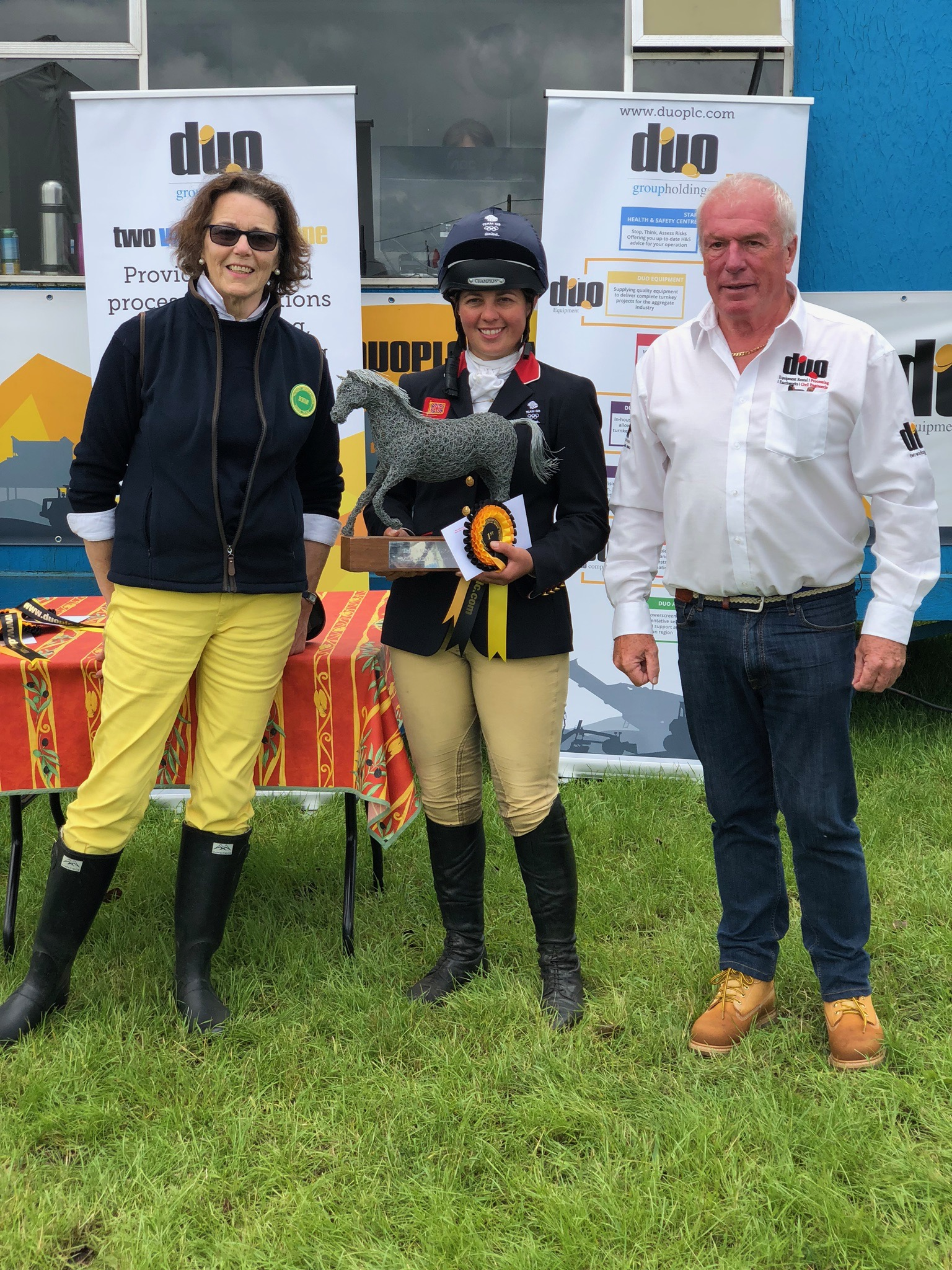 Press release: King reigns supreme at Nunney International