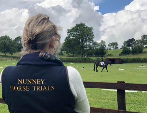 Meet Gemma Pudney who runs the dressage at Nunney